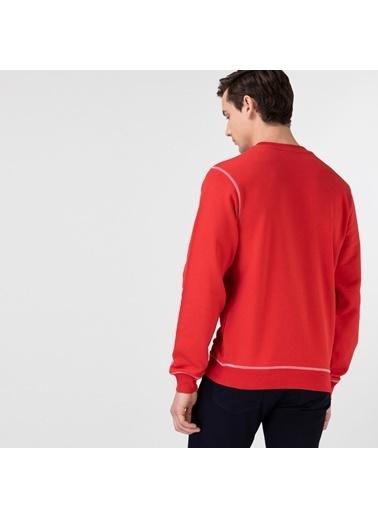 Lacoste Erkek Klasik Sweatshirt SH0062F.RAX Kırmızı